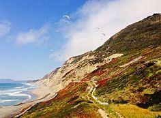 Pacifica, California Paragliders