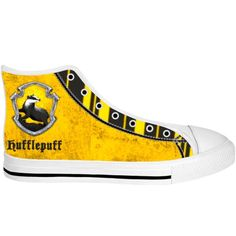 4c6c721a9ecf Harry Potter  Hufflepuff High Top Sneakers