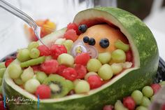 baby in a carriage fruit :)