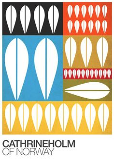 Retro print Cathrineholm poster vintage wall decor inspired by great colorful Cathrineholm lotus pattern and the great colors. **First & original prints featuring Stig Lindberg, Cathrineholm, Rorstrand and other famous scandinavian midcentury . Fabric Design, Pattern Design, Mid Century Art, Modern Wall Decor, Retro Home Decor, Minimalist Art, Scandinavian Design, Pixies, Print Patterns