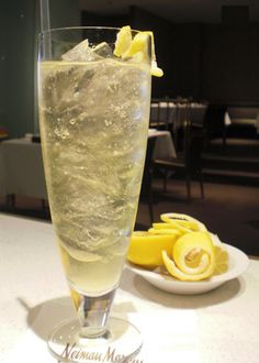 LIMONCELLATO    1 oz. black cherry rum    1/2 oz. Il Tramonto Limoncello    1/2 oz. pure cane syrup    1/2 oz. fresh lemon juice    2 1/2 oz. Luccio Moscato d'Asti    Fill a pint glass with ice. In a separate shaker, combine the first 4 ingredients, cap and shake for 5 seconds. Strain into your pint glass. Top with Luccio Moscato d'Asti. Garnish with a lemon twist and a straw.