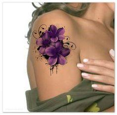 Temporal tatuaje hombro flor Ultra delgada realista falso los tatuajes  Usted recibirá 1 flor tatuaje y las instrucciones completas.  Dimensiones: 4.5 H x 3,5  W  Los tatuajes le pasada 1 semana, muy, muy durable.  Por favor lea las instrucciones de aplicación antes de aplicar el tatuaje.  Puede quitar el tatuaje frotando la zona con aceite de bebé o usar un paño con jabón.  Tatuajes temporales no se recomiendan para su uso en pieles sensibles o si tiene una alergia a los adhesivos…