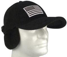 Men/'s Fitted 98/% Cotton Flexfit Mid Profile Tactical Cap w Removable Patch
