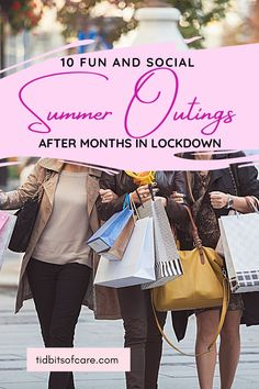 Ways to have fun and be social after lockdown. Summer outings with friends. Self Care, Lifestyle Blog, Summer, Fun, Friends, Amigos, Summer Time, Boyfriends, Hilarious