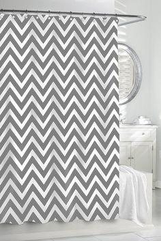 Kassatex Chevron Shower Curtain - Gracious Home