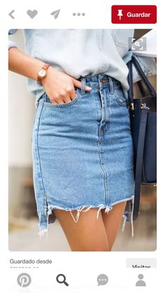 Destructed Denim