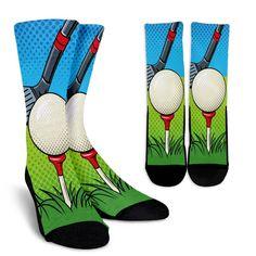 Golf Pixelated Socks