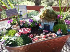 53 best Fairy Gardens images on Pinterest   Fairies garden ...