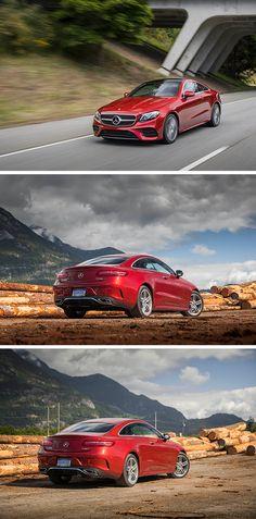 Red, hot, heat. The Mercedes-Benz E-Class Coupé. Photos by Mike Schaffer (www.capitolsunset.com) for #MBphotopass via @mercedesbenzusa