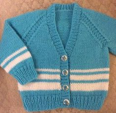 Knitting Patterns Boy Vee Neck Cardigan in 2 sizes for a boy or girl Knitting pattern by heathbrook Baby Cardigan Knitting Pattern Free, Baby Boy Knitting Patterns, Christmas Knitting Patterns, Arm Knitting, Cardigan Pattern, Baby Patterns, Neck Pattern, Baby Pullover, Baby Scarf