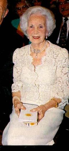 Princess Lilian is the oldest living member of the Swedish or any European royal family.