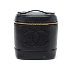 Chanel Vanity Bag Leather, 545€, now featured on Fab.