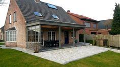 Luxe overkapping - veranda   H. Van Den Bergh Essen