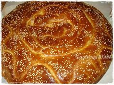Cooking & Art by Marion: Γλυκό ψωμί / Sweet bread Greek Sweets, Greek Recipes, Sweet Bread, Doughnuts, Apple Pie, Deserts, Rolls, Food And Drink, Cooking Recipes