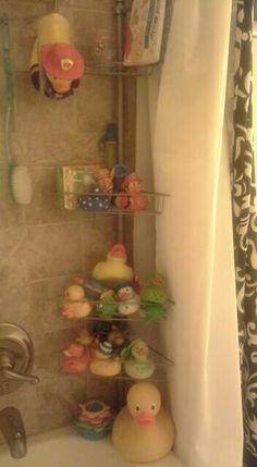 Corner Shower Caddy For Bath Toys
