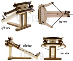 I SOOOO want to make one of these!! ...... DIY Wooden Ballista Kit: Create your own model of Roman artillery