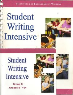 excellence in writing Institute for excellence in writing (iew) has been on my curriculum wishlist for awhile now a couple of years ago, we participated in a homeschool co-op in which iew.