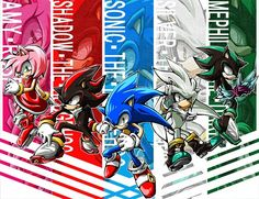 Tags: Anime, Fanart, Sonic the Hedgehog, Sonic the Hedgehog (Character), Amy Rose