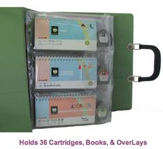 Obsessed with Scrapbooking: Cricut - storage - cartridges