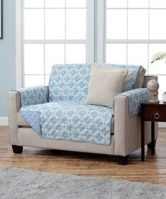 Look what I found on #zulily! Marine Blue Reversible Love Seat Furniture Protector #zulilyfinds