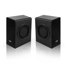Portable Stereo Bass PC Speakers Set Multimedia USB Powered Laptop Desktop Computer, Pack of 2, 671S-Bk - http://www.computerlaptoprepairsyork.co.uk/laptop-computer/portable-stereo-bass-pc-speakers-set-multimedia-usb-powered-laptop-desktop-computer-pack-of-2-671s-bk