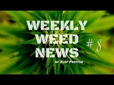 Weekly Weed News w/ Kief Preston - Episode 8 - YouTube