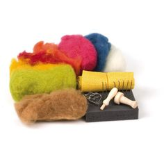 starter kit for needle felting