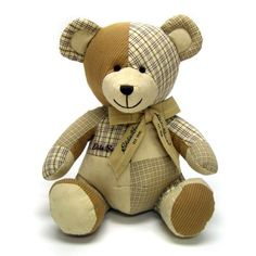 patterns for patchwork teddy bears - Bing Images                                                                                                                                                                                 More