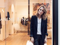 ANIN BING MADRID STORE OUTFIT