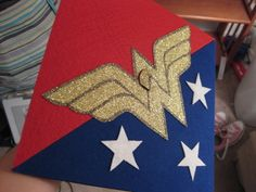 #WonderWomen inspired Graduation Cap