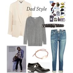 """""""Dad Style"""" by fashionbrillablog on Polyvore"""