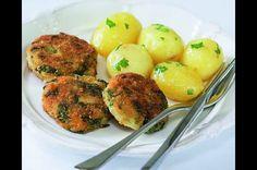 Zeleninový řízek Tasty Kitchen, Veg Recipes, Potato Salad, Potatoes, Ethnic Recipes, Vegetarian Recipes, Plant Based Recipes, Potato