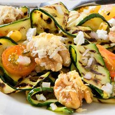 Grilled Zucchini Salad with Pizza Walnuts Recipe - Allrecipes.com