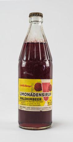 """DDR Museum - Museum: Objektdatenbank - """"Limonadensirup"""" Copyright: DDR Museum, Berlin. Eine kommerzielle Nutzung des Bildes ist nicht erlaubt, but feel free to repin it!"""