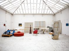 Howard Hodgkin Studio... Mine would be by the sea. And a mini bar in the corner...