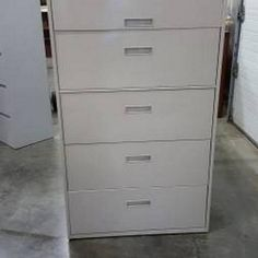 Steelcase Lateral File Cabinets 5 Drawer