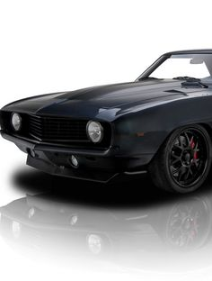 Mysterious black Camaro available on eBay! #MusclecarMonday