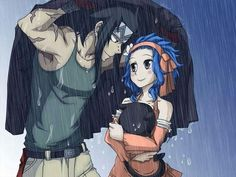 Gajeel and Levi