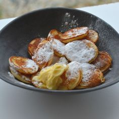 Poffertjes (traditional Dutch mini pancakes)