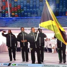 Jamaica bobsled team is in the house!