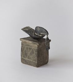 I thought this was stone at first, but it is not: Bird and Fish | John Maltby