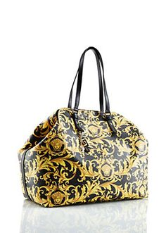 Versace - Barocco Printed Bag in PVC
