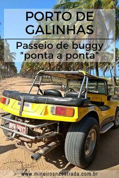 Com o passeio de buggy Ponta a Ponta, conhecemos todas as praias de Porto de Galinhas, em quatro ou seis horas. Porto de Galinhas, Pernambuco.#mineirosnaestrada #pernambuco #portodegalinhas #praia #viagem