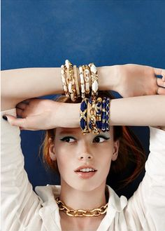 Love these stacked bangles http://rstyle.me/n/g3a35nyg6