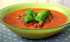 Kulinarne Inspiracje: Ziemniaczana zupa krem z pieczoną papryką