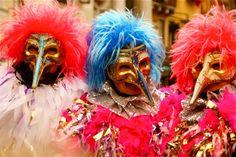 Bild aus dem Jahr 2012 aus der Region Venezia Carnevale, Italien