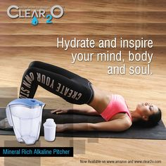 Water Filter Pitcher, Filtered Water Bottle, Water Pitchers, Body And Soul, Drinking Water, Water Jugs
