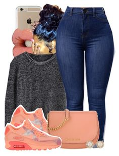 """""""Untitled #622"""" by b-elkstone ❤ liked on Polyvore featuring Speck, NIKE, Michael Kors and Kate Spade"""