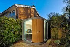 33 Idee pazzesche per rendere unica e spettacolare la vostra casa! - Epì  Ufficio in giardino