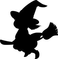 Vector Gratis: Niña, Bruja, Halloween, Escoba - Imagen gratis en Pixabay - 159936